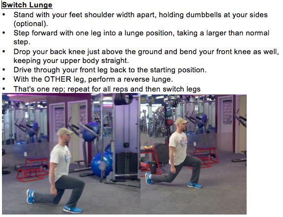bodyweight routine
